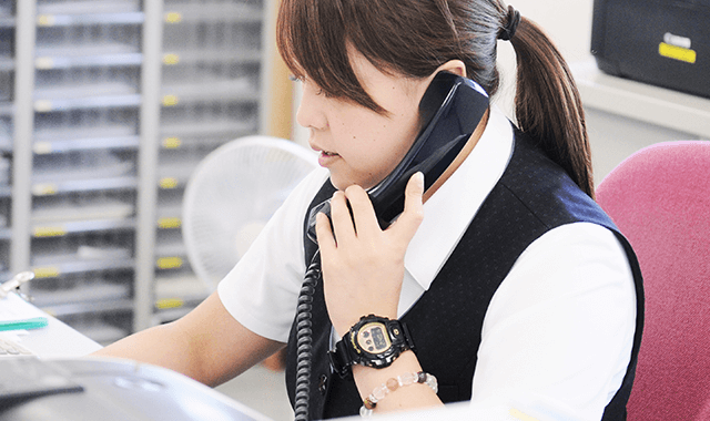 Career 質の高いサービスを提供する人材